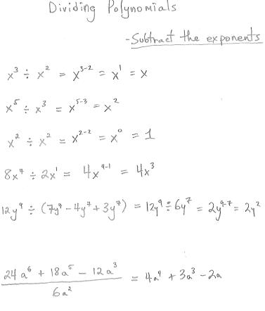 Freemathtutoring Dividing Polynomials Examples Part Of The